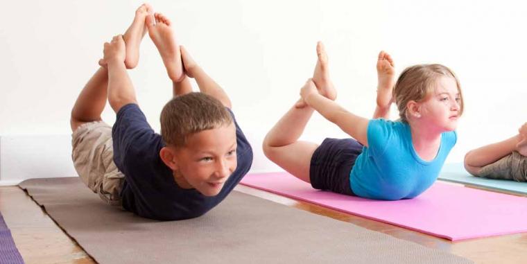 Por qué Yoga para los niños